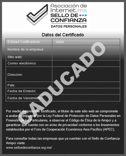 Sello de confianza de http://www.defensadeldeudor.org